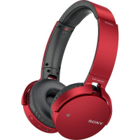 Sony MDR-XB650BT Headphones (Red)