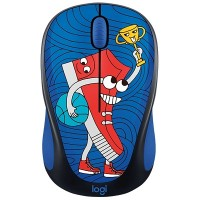 Logitech DOODLE COLLECTION M238 Wireless Mouse (Sneakerhead)