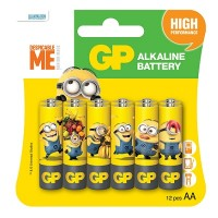 GP BA-NA-NA 12xAA Ultra Alkaline Battery