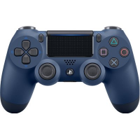 PS4 Dualshock 4 Wireless Controller [CUH-ZCT2G]  (Midnight Blue)