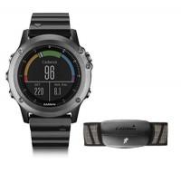 Garmin Fenix 3 Sapphire GPS + Heart Rate Monitor Sport Watch Bundle