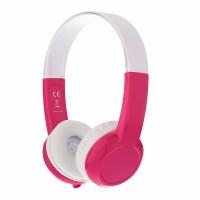 BuddyPhones Explore Kid Headphones + Mic (Pink)