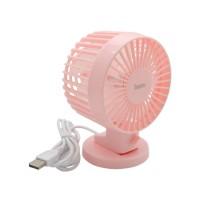 Hoco F5 Desktop Fan (Pink)
