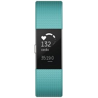 fitbit charge 2 (Teal/Silver) Size S