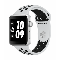 Apple Watch Nike+ Series 3 GPS 42mm (Silver Aluminium Case with Pure Platinum/Black Nike Sport Band)