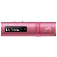Sony Walkman with Built-in USB (NWZ-B183F) Pink
