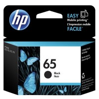 HP 65 Black Original Ink Cartridge (N9K02AA)