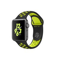 Apple Watch Series 2 Nike+ 38mm Space Grey Aluminium Case with Black/Volt Nike Sport Band