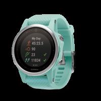 Garmin Fenix 5S Sapphire 42mm Sport Watch (Frost Blue)