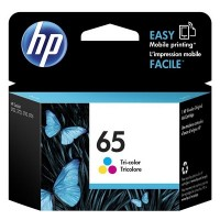 HP 65 Tri-color Original Ink Cartridge (N9K01AA)