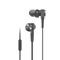 Sony MDR-XB55AP Earphones + Mic (Black)