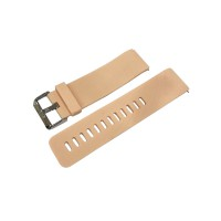 PRS SGW-02 Silica Gel Watchband For Fitbit Blaze (Beige)