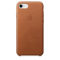 iPhone 8/7 Leather Case (Saddle Brown)