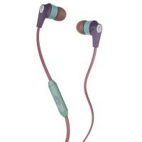 SkullCandy Inkd Earphones (Purple/Green)