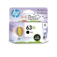 HP 63XL High Yield Black Original Ink Cartridge  (1VV38AA)