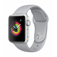 Apple Watch Series 3 GPS 38mm (Silver Aluminium Case with Fog Sport Band)
