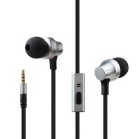 Awei Stereo Earphone Super Bass Headset With MIC (ES910i) Silver