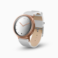MisFit Phase MIS5003 Hybrid Smartwatch (Rose SS White Leather)
