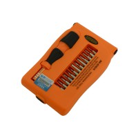 PRS JM-8104 Interchangeable Precise 29 in 1 Manual Tool Kit (Orange)