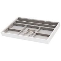 Agva Multicompartment Medium Stacker (White) JB80400