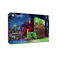 Microsoft Xbox One 1TB S Console Minecraft Limited Edition Bundle (23C-00020)