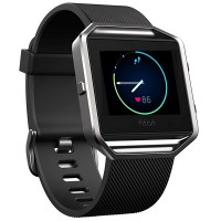 Fitbit Blaze Smart Fitness Watch (Black) [Large: 17.0 cm–20.6 cm]