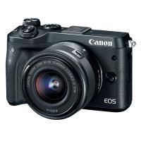 Canon EOS M6 Kit (EF-M15-45mm) - Black