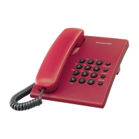 Panasonic KX-TS500MXR Corded Phone (Red)