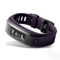 Garmin vívosmart® HR EZ-Link Fitness Tracker (Purple- Regular)