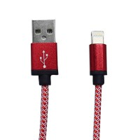 PLG LC-26 8Pin Charging Cable 1m (Red)