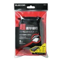 Elecom ZSB-HD004BK HDD Case ZEROSHOCK [Size - S]  (Black)