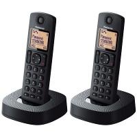 Panasonic KX-TG312CXB Twin DECT Speakerphone Handset (Black)