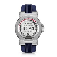 Michael Kors Access Silicone Smartwatch (Silver Dylan)