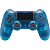 PS4 Dualshock 4 Wireless Controller [CUH-ZCT2G]  (Crystal Blue)