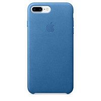 iPhone 7 Plus Leather Case (Sea Blue)