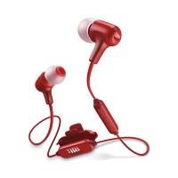 JBL E25BT Earphones (Red)