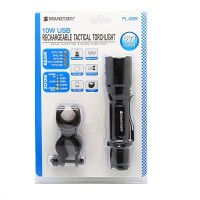 SoundTeoh [FL-80R] Rechargeable LED Torchlight