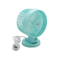 Hoco F5 Desktop Fan (Blue)