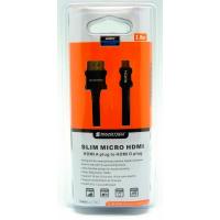 SoundTeoh Slim Micro HDMI to HDMI Cable (HDS-312 2M)