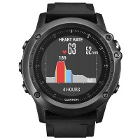 Garmin fenix 3 Sapphire + Wrist HRM Sport Watch (Black)
