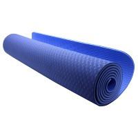 Valore VHA-0003 Premium Reversible Yoga Mat (Blue)