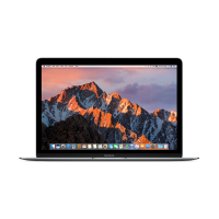 MacBook 12- inch (Space Gray) 1.2GHz dual-core (Intel Core m3 processor, 8GB, 256GB SSD storage)