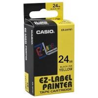 Casio XR-24YW Tape (Black on Yellow)