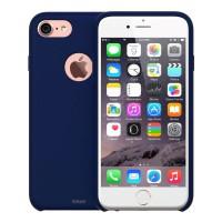 Redmonster iPhone 7/8 Liquid Silicon Case (RMLS-IP7/8-LSBL) (Soft Blue)