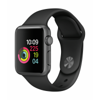 Apple Watch Series 3 GPS 38mm (Space Grey Aluminium Case with Black Sport Band)