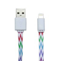 PLG LC-11 8Pin Charging Cable 1m (White)