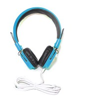 PRS P-HS05 Headset with Mic (Cyan)