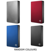 Seagate BackUp Plus Portable 5TB  [Random Colours]