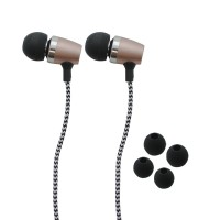 IPIPOO B70hi Wired Earphone With Mic Luxury (Gold)