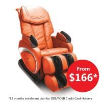 Ogawa Smart Space Massage Chair (OG5538A) (Fox Red)